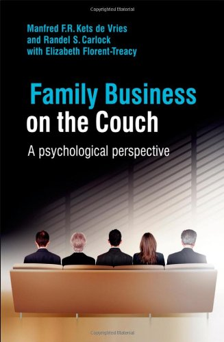 Family Business on the Couch A Psychological Perspective  2008 9780470516713 Front Cover