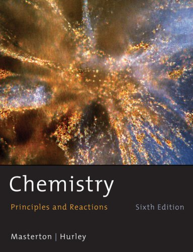 Chemistry Principles and Reactions 6th 2009 edition cover