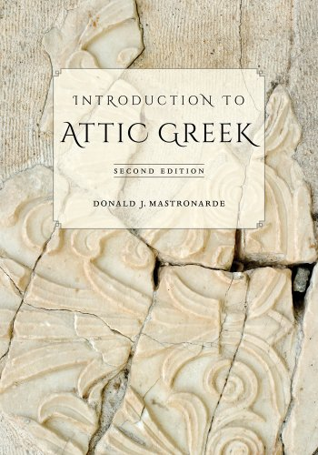 Introduction to Attic Greek  2nd 2013 edition cover