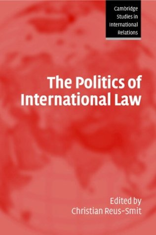 Politics of International Law   2004 edition cover