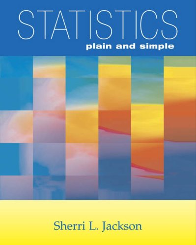 Statistics Plain and Simple   2005 9780534643713 Front Cover