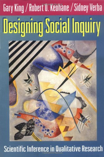 Designing Social Inquiry Scientific Inference in Qualitative Research  1994 edition cover