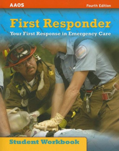Ssg- First Responder Student Workbo   2006 edition cover