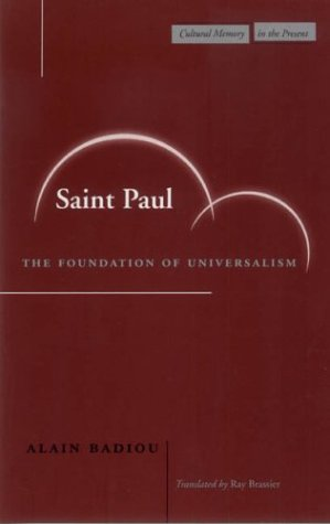 Saint Paul The Foundation of Universalism  2003 edition cover