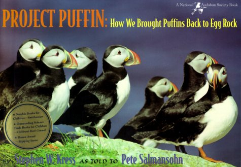 Project Puffin How We Brought Puffins Back to Egg Rock N/A edition cover