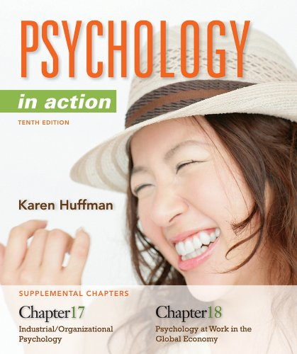 Chapters 17 and 18 Psychology in Action  10th 2013 9781118206713 Front Cover
