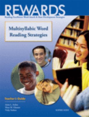 Rewards Reading Excellence, Word Attack and Rate Development Strategies 2nd 2000 (Teachers Edition, Instructors Manual, etc.) edition cover