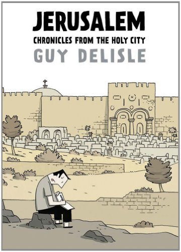 Jerusalem Chronicles from the Holy City  2012 edition cover