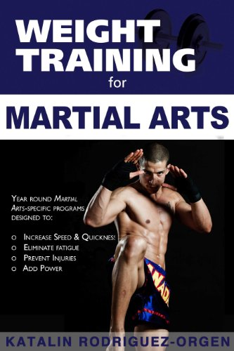 Weight Training for Martial Arts The Ultimate Guide  2011 9781932549713 Front Cover