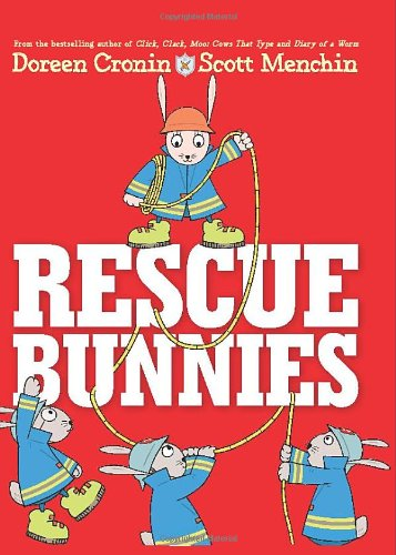Rescue Bunnies   2010 9780061128714 Front Cover