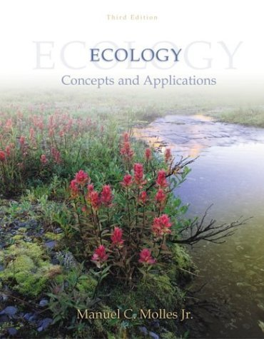 Ecology with Online Learning Center (OLC) Password Card 3rd 2005 (Revised) edition cover