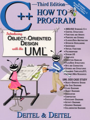 C++ How to Program Covers ANSI/ISO 3rd 2001 (Student Manual, Study Guide, etc.) edition cover