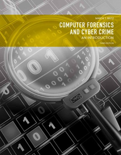 Computer Forensics and Cyber Crime An Introduction 3rd 2013 (Revised) edition cover
