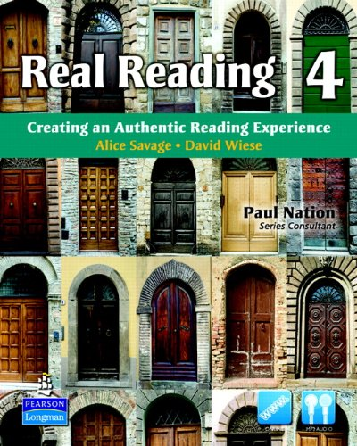 Real Reading 4 Creating an Authentic Reading Experience  2011 9780135027714 Front Cover