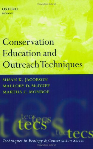 Conservation Education and Outreach Techniques   2006 (Handbook (Instructor's)) edition cover