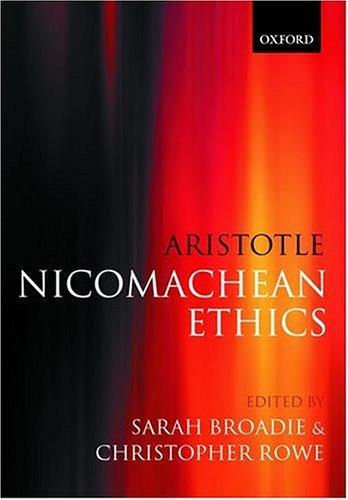 Nicomachean Ethics   2002 edition cover