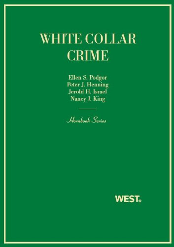 White Collar Crime:   2013 edition cover