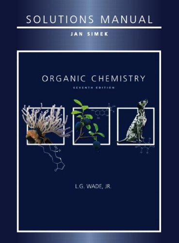 Student Solutions Manual for Organic Chemistry  7th 2010 edition cover
