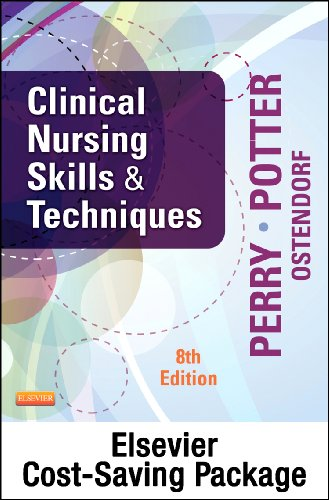 Clinical Nursing Skills and Techniques - Text and Mosby's Nursing Video Skills - Student Version DVD 4e Package  8th 2014 9780323185714 Front Cover