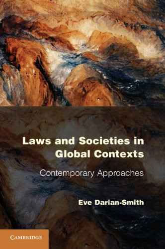 Laws and Societies in Global Contexts Contemporary Approaches  2013 edition cover