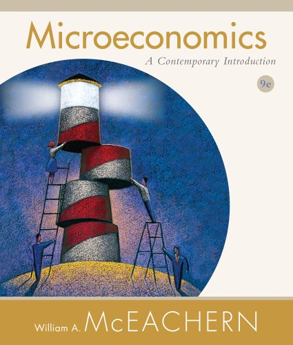 Microeconomics A Contemporary Introduction 9th 2012 edition cover