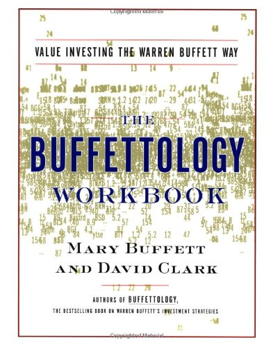 Buffettology Value Investing the Warren Buffett Way  2001 (Workbook) edition cover