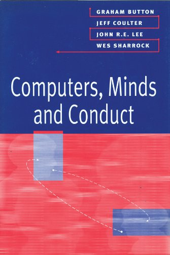 Computers, Minds and Conduct   1995 9780745615714 Front Cover