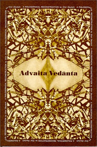 Advaita Vedanta A Philosophical Reconstruction  1980 edition cover