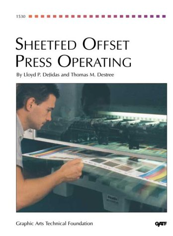 Sheetfed Offset Press Operating 2nd 1995 edition cover