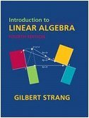 Introduction to Linear Algebra  4th 2009 9780980232714 Front Cover