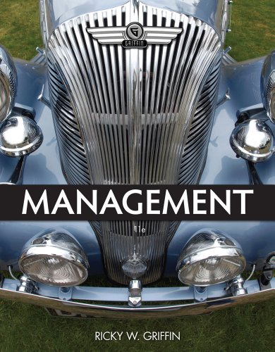 Management  11th 2013 edition cover