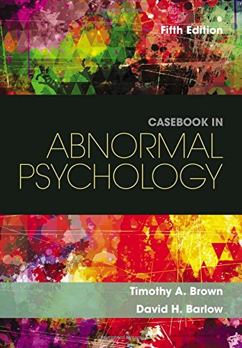 Casebook in Abnormal Psychology:   2016 9781305971714 Front Cover