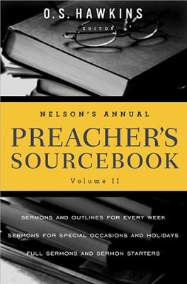 Nelson's Annual Preacher's Sourcebook   2012 9781401675714 Front Cover