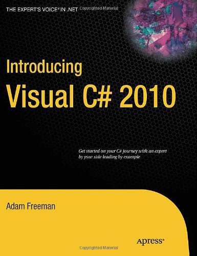 Introducing Visual C# 2010   2010 edition cover