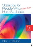Statistics for People Who (Think They) Hate Statistics  5th 2014 9781452277714 Front Cover