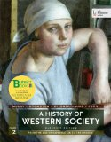 A History of Western Society:   2013 edition cover