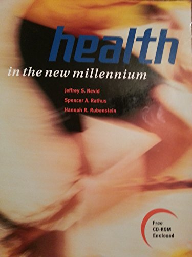 Health in the New Millennium The Smart Electronic Edition (S. E. E. )  1998 9781572591714 Front Cover