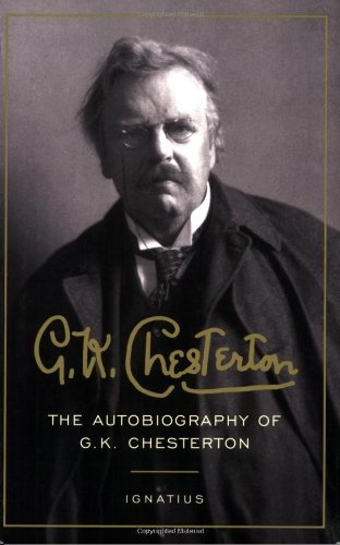 Autobiography of G. K. Chesterton   2006 edition cover