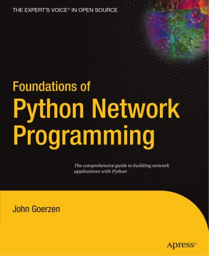 Foundations of Python Network Programming   2004 edition cover