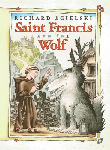 Saint Francis and the Wolf   2004 9780066238715 Front Cover