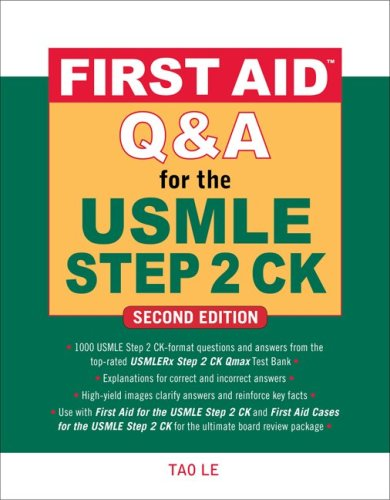 USMLE Step 2 CK  2nd 2010 edition cover