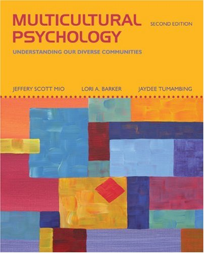 Multicultural Psychology  2nd 2009 edition cover