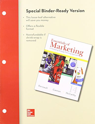 Essentials of Marketing:   2014 edition cover