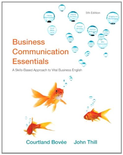 Business Communication Essentials  5th 2012 (Revised) edition cover