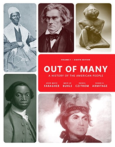 Out of Many, Volume 1 Plus NEW MyHistoryLab for US History -- Access Card Package  8th 9780134126715 Front Cover