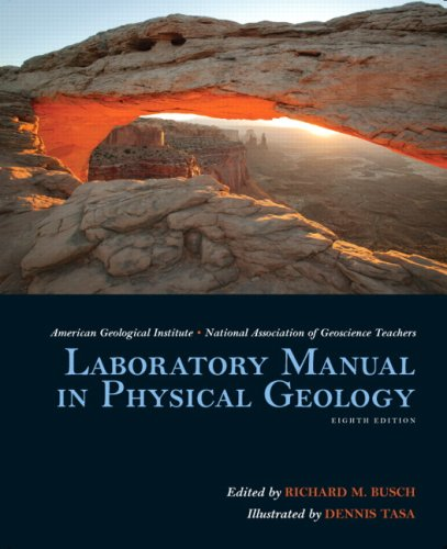 Laboratory Manual in Physical Geology  8th 2009 edition cover