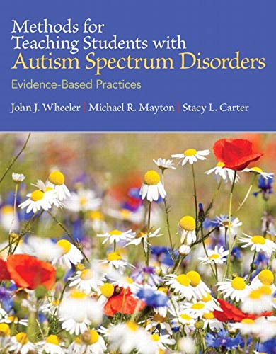 METHODS F/TEACHING STUD.W/AUTISM...(LL) N/A 9780137071715 Front Cover