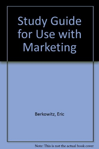 Marketing 5th 1997 (Student Manual, Study Guide, etc.) 9780256219715 Front Cover
