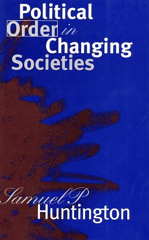 Political Order in Changing Societies   1996 edition cover