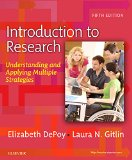 Introduction to Research Understanding and Applying Multiple Strategies 5th 2016 edition cover